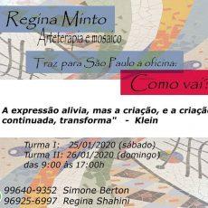 "Oficina ""Como vai?"" de Regina Minto"
