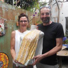 """""""Tecidos em mosaico. Cor, movimento e textura"""""""